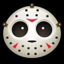 jason, vorhees, mask, halloween, clown, hockey, spooky icon