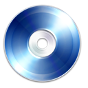 Blue, Cd, Disc, Dvd, Ray icon