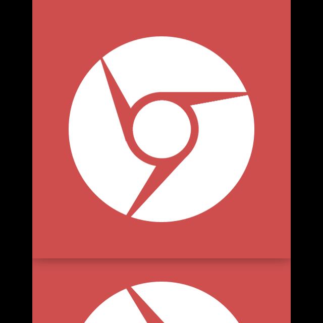 google, chrome, mirror icon