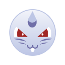 cute, monster, female, pokemon, go, nidoran icon