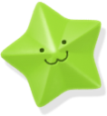 star, green icon