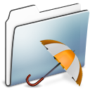 backup, graphite, smooth, folder icon