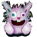 animal, rabbit, smile, elonizm, pet, pink icon