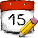 edit, date icon