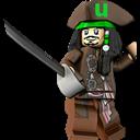 Jack, Lego, Sparrow, Utorrent icon