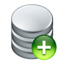 Add, Data icon
