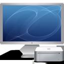 computer, mini, display, screen, monitor, mac, cinema icon
