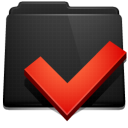 options, folder icon