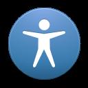 Button access icon