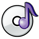 Disc, Music icon