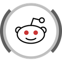 forum, social, reddit icon