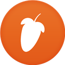Circle, Fl, Flat, Studio icon