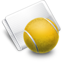 Folder Games Tennis icon