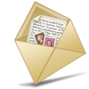 message, envelop, mail, sent, email, letter icon