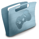 gaming, folder, game icon