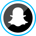 ghost, media, logo, social, corporate, snapchat icon