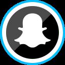 ghost, media, logo, social, corporate, snapchat icon