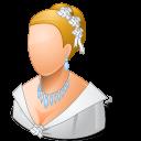 Bride, Light, Wedding icon