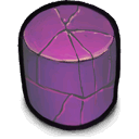 cylinder, purple icon