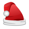 christmas, cap, santa icon