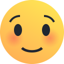 emoji, shy, blush, smile, emot, reaction icon