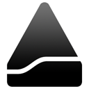 Black Eject icon