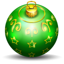 christmas tree ball 2 icon