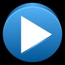 multimedia, tick, play, player, audio icon