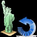 estatuadelalibertad,reload,refresh icon