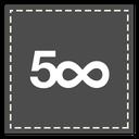 square, 500px icon