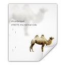 Mimetypes application x perl icon