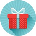 birthday, christmas, box, gift, present icon