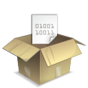 Application, Archive, Mime, x icon
