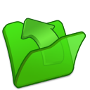 folder green parent icon