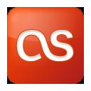 social, lastfm, box, red, last.fm icon