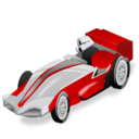 racing, single, seater, car, formula 1, sport icon