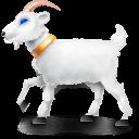 frank, goat, animal icon