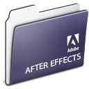 after, folder, adobe, effects icon