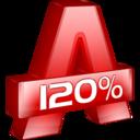 Alcohol 120% icon