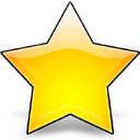 star, favourite, bookmark icon