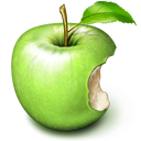 fruit, apple icon