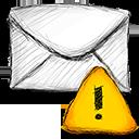 Email, Error icon