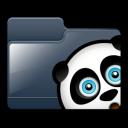 folder, panda icon