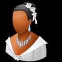Bride, Dark, Wedding icon