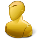 user,anonymous,yellow icon