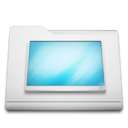 white,folder,desktop icon