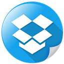 storage, internet, dropbox, social, package icon