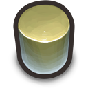 Green Cylinder icon