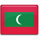 maldives, country, flag icon