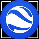 Circle, Earth, Flat, Google icon
